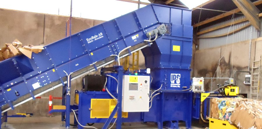 High Efficiency Two-Ram - Harris Equipment on waste container, waste generator, waste management cardboard, waste bales, waste informative,